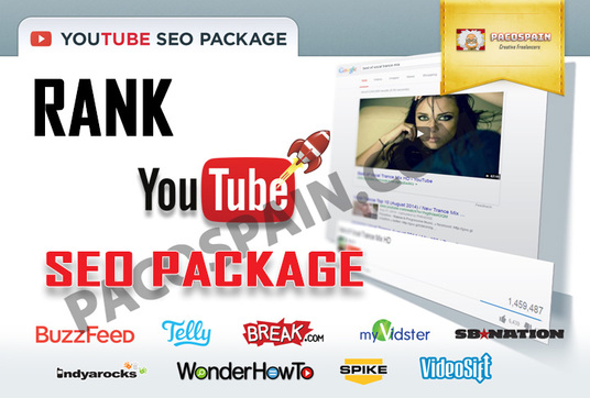 Rank YouTube videos first page with this SEO Package