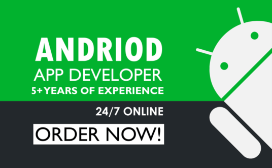 develop your android app in Katlin or java
