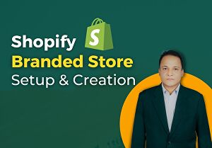 I will Build A Branded One Product Shopify Store For Your Business