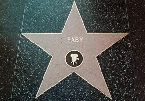 I will write your name on the Walk of Fame