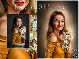 I will make an oil painting from your photo