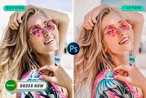 I will Do Skin Retouching And Photoshop Editing