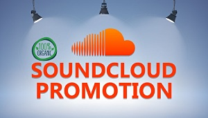 I will do real and organic soundcloud promotion for music