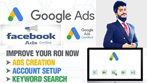 I will Manage and Set up Google Ads Or Facebook Ads Campaigns