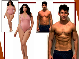 I will enhance muscles, 6 pack abs, body slimming or any photo editing works