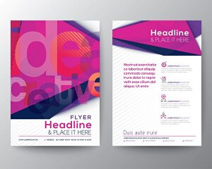 I will create posters and flyers for brand advertisement and social media marketing