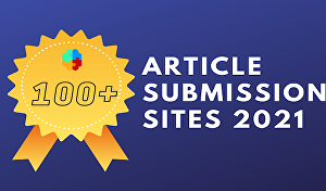 I will do 100 Article Submission for SEO Ranking