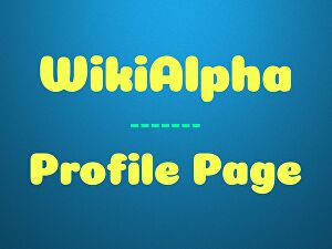 I will create WikiAlpha profile page for your business