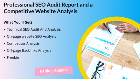 do Research and Technical Seo Audit Report