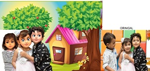 I will turn your  photos into 3D-2D cartoon, caricature