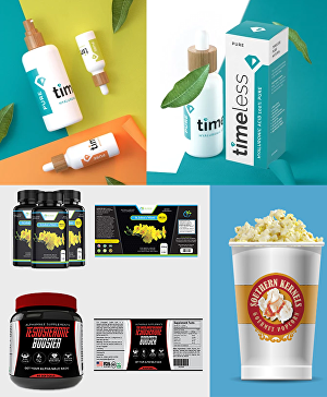 I will design amazing product package or product label