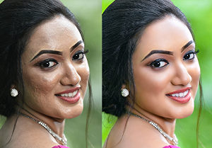 I will do high-end photo retouching and editing