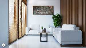 I will design and render tropical or modern interior space
