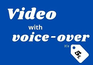 I will convert blog post, article or text to video with voice over