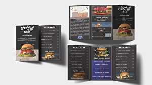 I will create Professional Trifold and Bifold Brochure