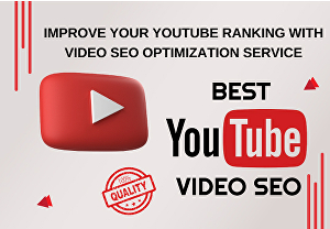 I will optimize YouTube video SEO for organic ranking