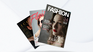 I will create a 3d magazine video for your business