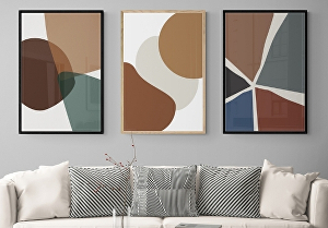 I will design abstract wall art  for your Etsy shop within 24 hours