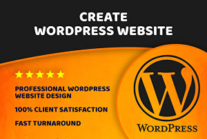 I will create a new design & Redesign  a WordPress website with fully responsive and bug