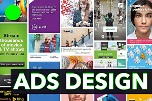 I will do web banners ads design