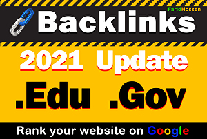 I will Do 50 Edu & Gov High Authority Backlinks Boost Your Search Engine  Ranking