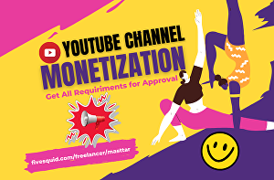 I will do youtube video promotion SEO for channel monetization
