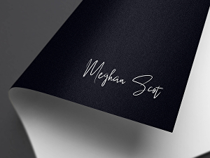 I will design handwritten or signature logo for your brand