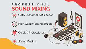 I will do sound design for your project