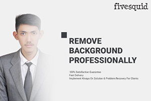 I will remove background from image professionally