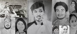 I will  draw any pencil sketch and pencil art portrait in my own hand
