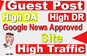 I will make 2 high-quality guest posts do-follow backlinks