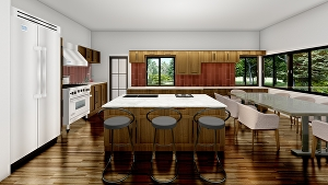 I will do architectural 2D design and 3D visualization