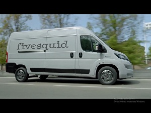 I will make this van video for your business logo