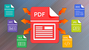 I will Convert PDF to Word,Excel, PowerPoint