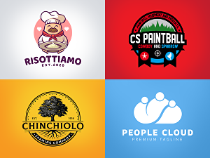 I will design professional modern business logo for you