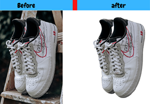 I will remove background of 5 product images within 24 hr