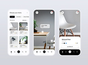 I will make mobile app UI UX design with prototype