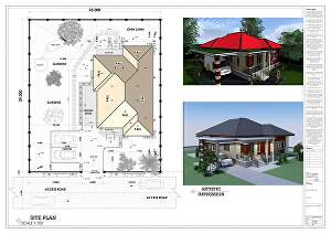 I will draft architectural plans, structural drawings in autocad, draftsman