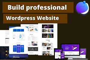 I will create a responsive wordpress website or landing page with elementor