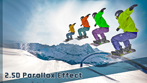 I will do parallax effect animation from your image