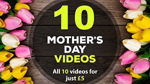 I will create all 10 Mothers Day greeting videos