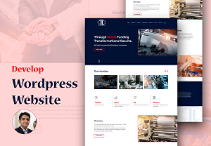 I will create a premium WordPress elementor website for your business