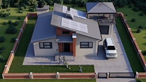 I will do your Architectural 3d modeling and Rendering in Revit Architecture