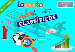 I will post your ads on high da 50 classified websites