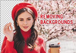 I will do professional photo background removal, image editing, and transparent