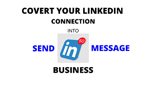 I will Send 1000 LinkedIn Messages To Your 1st Degree Connections
