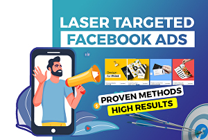 I will set up and manage targeted Facebook ads and Instagram ads