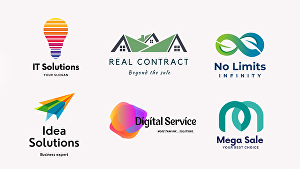 I will modern business logo design with copyrights