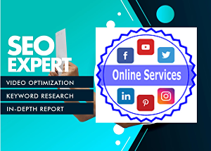 I will be your  YouTube SEO expert