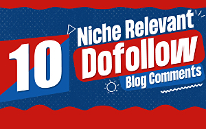 I will do 10 niche relevant manual seo themed blog commenting